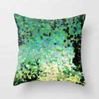 The Emerald Isle Throw Pillow