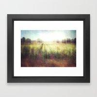 Cornfields Framed Art Print