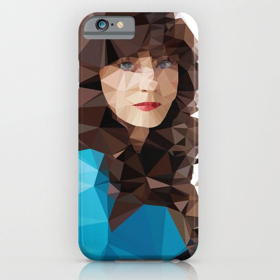 Zooey Deschanel iPhone & iPod Case