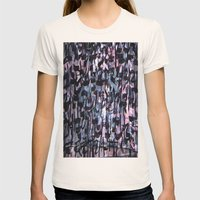GLYPHS OF XANADU4 Womens Fitted Tee Natural SMALL