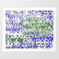BillyBob Art Print