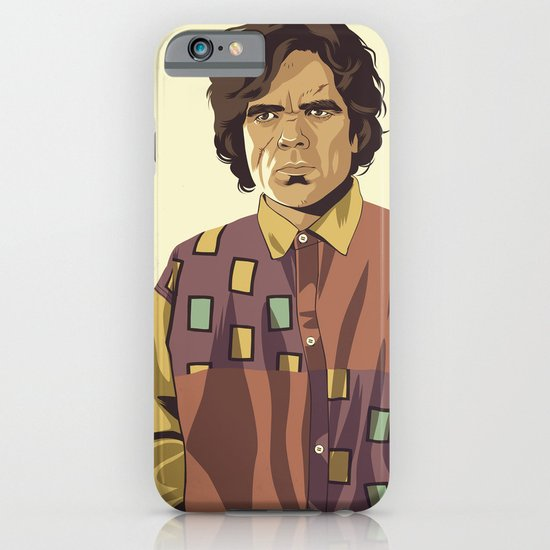 GAME OF THRONES 80/90s ERA CHARACTERS - Tyrion iPhone & iPod Case