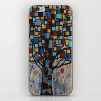 :: Stained Glass Tree :: iPhone & iPod Skin