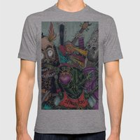 Sid Squish And The Death… Mens Fitted Tee Athletic Grey SMALL