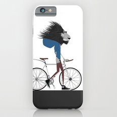 Hipster Lion and his Bicycle Slim Case iPhone 6s