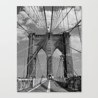 Welcome to Brooklyn Canvas Print