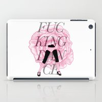 F**CKING DANCE iPad Case