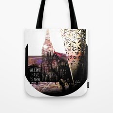 Christchurch - All We Have is Now by Debbie Porter - Designs of an Eclectique Heart Tote Bag