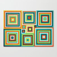 Be Squared! Canvas Print