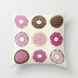 Throw Pillow - Donuts - Kakel