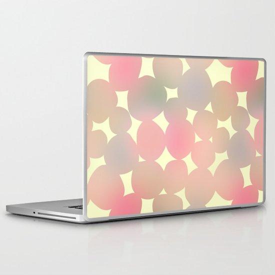 ombre pebbles Laptop & iPad Skin
