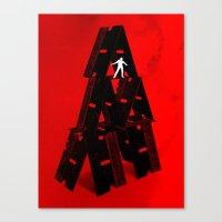Razor's Edge Canvas Print