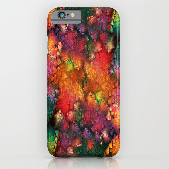 Dragon's tail pattern iPhone & iPod Case