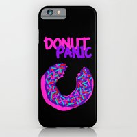 iPhone & iPod Case featuring DONUT PANIC [LOST TIME] by C O R N E L L