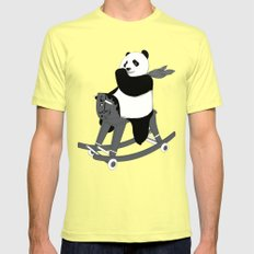 Keep Rolling Lemon SMALL Mens Fitted Tee