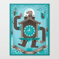 Cuckoo-o-tron Canvas Print