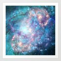 Abstract Galaxies 2 Art Print