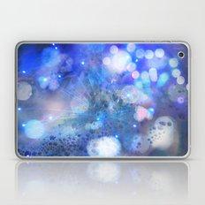 Blue Sparks Laptop & iPad Skin