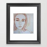 Ollga's Secret Framed Art Print