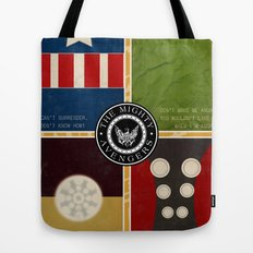 The Mighty Avengers Tote Bag