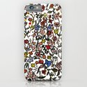 flower-scatter iPhone & iPod Case