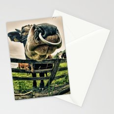 Holy cow its a bull Stationery Cards