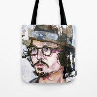 Johnny Depp Tote Bag