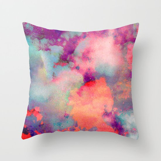 Untitled 20110625p (Cloudscape) Throw Pillow