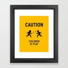 Children at Play Framed Art Print