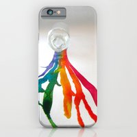 Rainbow Spill iPhone 6 Slim Case