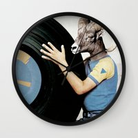 Vinyl Life Wall Clock