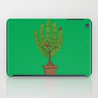 A bird in hand iPad Case