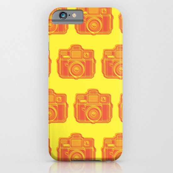 I Still Shoot Film Holga Logo - Yellow & Red iPhone & iPod Case