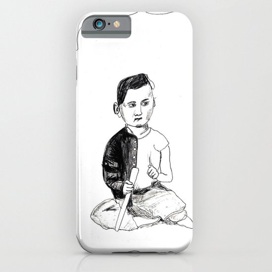 Portrait of a Victorian Baby iPhone & iPod Case