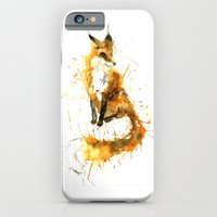 iPhone & iPod Case featuring Bushy Tailed by Meg Ashford