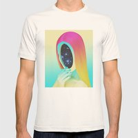 Galexia Mens Fitted Tee Natural SMALL