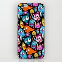 Weird Dudes Pattern iPhone & iPod Skin