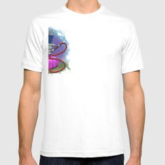 Tokin' Turtle Mens Fitted Tee SMALL White