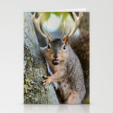 Squirrel A Lope Stationery Cards