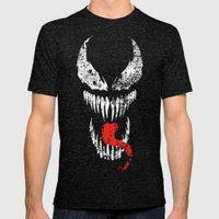 Venom Mens Fitted Tee Tri-Black SMALL