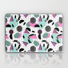 Joshin - memphis throwback retro pop art geoemetric pattern print unique trendy gifts dorm college Laptop & iPad Skin