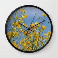 Smørblomst Wall Clock