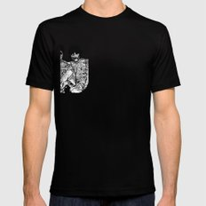All You Need is Brains Mens Fitted Tee Black SMALL