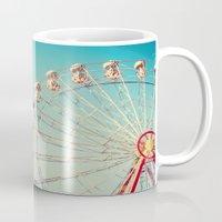 I Don't Want Love, Ferris Wheel on Blue Sky Mug