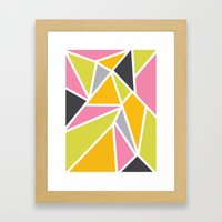 Diaganoid Series: Confec… Framed Art Print