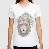 LIONHEART Womens Fitted Tee Ash Grey SMALL