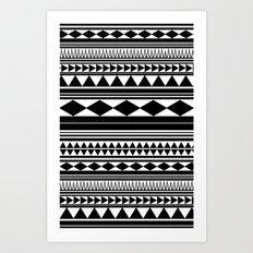 Tribal #5 Art Print