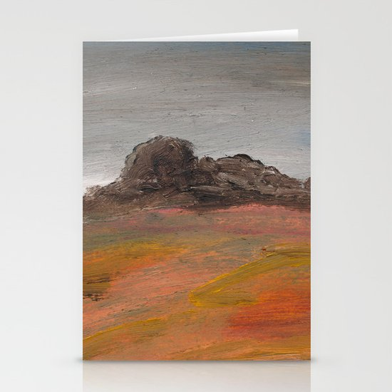 On the Crest of a Hill Stationery Card