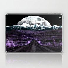 Road to Eternity (vintage moon mountain) Laptop & iPad Skin