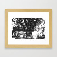 tracked Framed Art Print